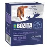 BOZITA Turkey беззерновые консервы, кусочки в желе с ИНДЕЙКОЙ, для собак