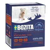BOZITA Chicken беззерновые консервы, кусочки в желе с КУРИЦЕЙ, для собак