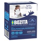 BOZITA Reindeer беззерновые консервы, кусочки в желе с ОЛЕНЕМ, для собак