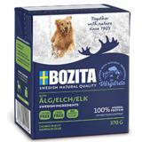 BOZITA Elk беззерновые консервы, кусочки в желе с ЛОСЕМ, для собак