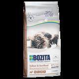Bozita Indoor & Sterilized GRAIN FREE Reindeer, БЕЗЗЕРНОВОЙ сухой корм для взрослых малоподвижных кошек, для стерилизованных кошек, С МЯСОМ ОЛЕНЯ.