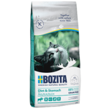 Bozita Sensitive Diet & Stomach GRAIN FREE, БЕЗЗЕРНОВОЙ сухой корм для кошек с чувствительным пищеварение, пожилых и с избыточным весом, С МЯСОМ ЛОСЯ.