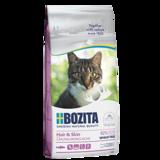 Bozita Hair & Skin WHEAT FREE Salmon, сухое питание для взрослых и растущих кошек, для кожи и шерсти, С ЛОСОСЕМ. НЕ СДЕРЖИТ ПШЕНИЦУ.
