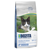Bozita Outdoor&Active сухое питание для взрослых и растущих кошек, ведущих активный образ жизни, С МЯСОМ ЛОСЯ.
