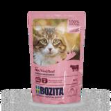 BOZITA Beef кусочки в соусе с ГОВЯДИНОЙ для кошек