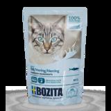 BOZITA Herring кусочки в соусе с СЕЛЬДЬЮ для кошек