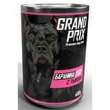Grand Prix Консервированный корм для собак аппетитные кусочки баранина с тыквой в соусе 400 гр