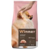 Winner Полнорационный корм из курицы для щенков мелких пород