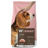 Winner Полнорационный корм из курицы для щенков средних пород