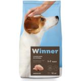 Winner Полнорационный корм из курицы для взрослых собак мелких пород