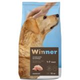 Winner Полнорационный корм из курицы для взрослых собак крупных пород