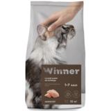 Winner Полнорационный корм с курицей для стерилизованных кошек