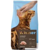 Winner Полнорационный корм из курицы для взрослых кошек всех пород