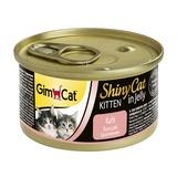 GimCat ShinyCat консервы для котят из цыпленка 70 г