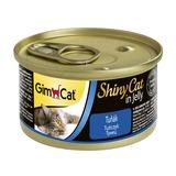 GimCat ShinyCat консервы для кошек из тунца 70 г