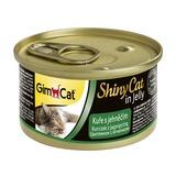 GimCat ShinyCat консервы для кошек из цыпленка с ягненком 70 г
