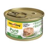 GimDog Pure Delight консервы для собак из цыпленка с ягненком 85 г
