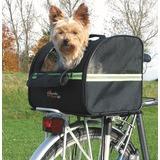 Trixie Сумка-переноска на велосипед Biker-Bag, 35*28*28 см, цвет чёрный