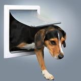 Trixie Дверца для кошек/собак, 2 положения, 22,5х29,5 см, пластик, белый