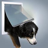Trixie Дверца для собак, 2 положения, 30,8х38 см, пластик, белый