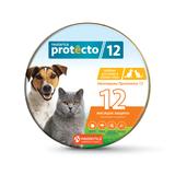 Neoterica Protecto ошейник для кошек и мелких пород собак от клещей, блох и их личинок, комаров, 2 шт. в уп. (Неотерика Протекто)