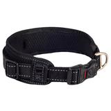 Rogz ошейник для собак с мягкой подкладкой Classic Collar Padded, цвет черный