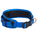 Rogz ошейник для собак с мягкой подкладкой Classic Collar Padded, цвет синий
