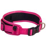 Rogz ошейник для собак с мягкой подкладкой Classic Collar Padded, цвет розовый