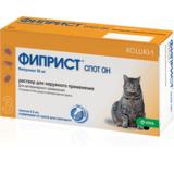 Fypryst® Spot On Фиприст Спот Он капли для кошек от клещей, блох, вшей, комаров и власоедов