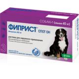 Fypryst® Spot On Фиприст Спот Он капли для собак более 40 кг от клещей, блох, вшей, комаров и власоедов