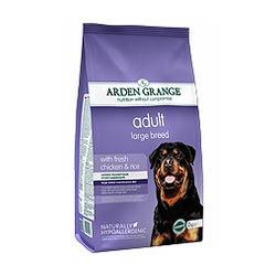 Arden Grange с курицей и рисом для взрослых собак крупных пород Adult Large Breed chicken & rice