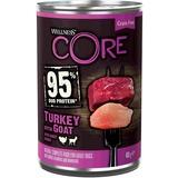 Welness Core 95 консервы из индейки с козлятиной и сладким картофелем для взрослых собак