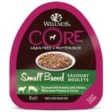 Welness Core SMALL BREED консервы из баранины с олениной, белым сладким картофелем и морковью для собак мелких пород