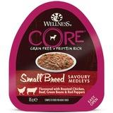 Welness Core SMALL BREED консервы из курицы с говядиной, зеленой фасолью и красным перцем для собак мелких пород