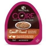 Welness Core SMALL BREED консервы из курицы с индейкой, морковью и зеленой фасолью для собак мелких пород