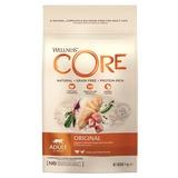 Welness Core Original беззерновой сухой корм из индейки с курицей для взрослых кошек
