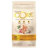 Welness Core Sterilised беззерновой сухой корм из курицы с индейкой для стерилизованных кошек и кастрированных котов