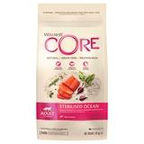 Welness Core Sterilised беззерновой сухой корм из лосося для стерилизованных кошек и кастрированных котов