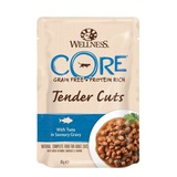 Welness Core TENDER CUTS паучи из тунца в виде нарезки в соусе для кошек