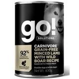 GO! NATURAL Holistic консервы беззерновые с рубленым мясом ягненка и дикого кабана для собак, GO! Carnivore Grain Free Minced Lamb with Wild Boar DF