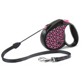 Triol by Frexi поводок-рулетка Life Pink M 5м для собак до 20 кг, трос