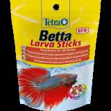 TetraBetta LarvaSticks корм в форме мотыля для петушков и других лабиринтовых рыб