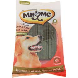 Мнямс Зубные палочки для собак с эвкалиптом, 6 шт. х 20 г, 12 см