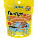 TetraFunTips Tablets корм в таблетках для приклеивания к стеклу 20 таб