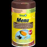 Tetra Menu корм для всех видов рыб- 4 вида мелких хлопьев