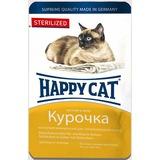 Happy Cat Sterilized с курицей - полноценный корм для взрослых кастрированных и стерилизованных кошек