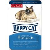 Happy Cat Sterilized с лососем- полноценный корм для взрослых кастрированных и стерилизованных кошек