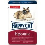 Happy Cat Sterilized с кроликом - полноценный корм для взрослых кастрированных и стерилизованных кошек