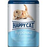 Happy Cat Kitten курочка с морковью - полноценный корм для котят всех пород с 4-недельного возраста