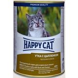 Happy Cat Утка с цыпленком - полноценный корм для взрослых кошек всех пород и возрастов